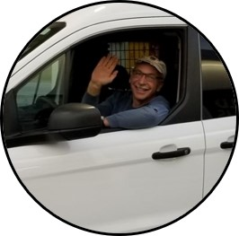 Mark Bild in Truck
